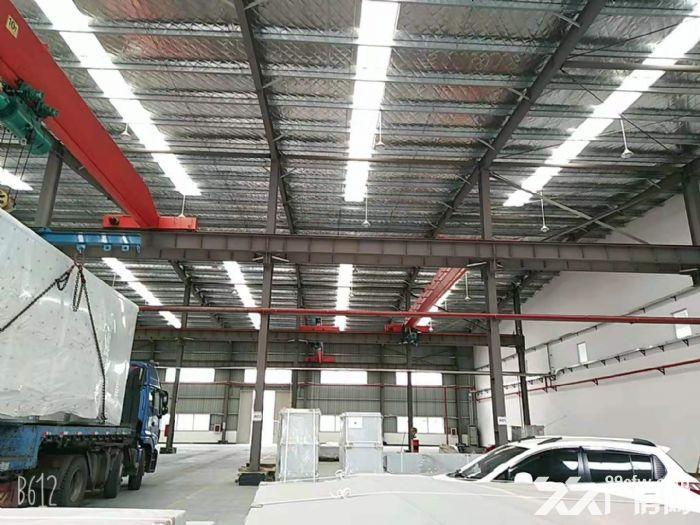 青浦全新厂房招租,厂房面积+办公面积1.3万平带行车,看房随时-图(3)
