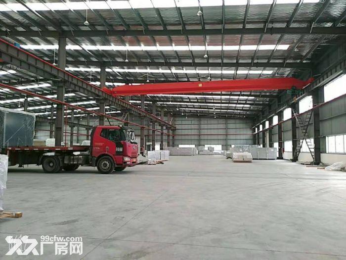 青浦全新厂房招租,厂房面积+办公面积1.3万平带行车,看房随时-图(6)