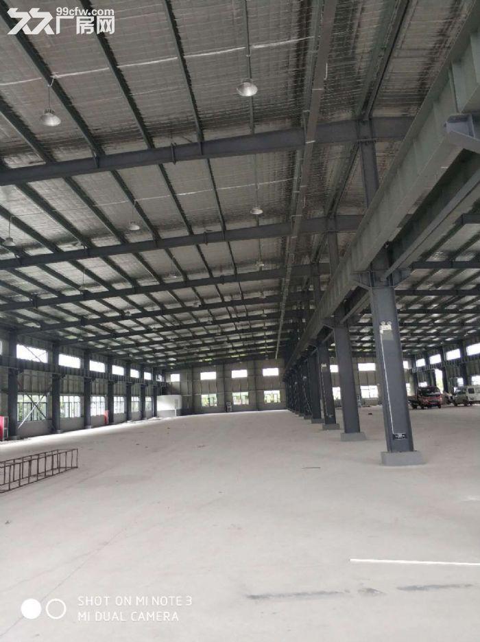 雷甸工业区全新单层钢结构7000方出租有行车可以分3跨出租报价25-图(1)