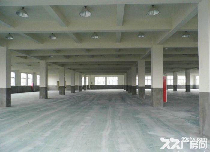下沙开发区8000方厂房出租,1楼5500方2楼2500方,可整租,分租,大车进-图(1)