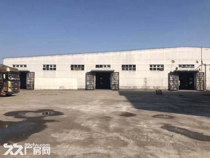 香花桥工业区4300平方单层高10米厂房仓库出租,园区场地大,适合生产,物流-图(1)