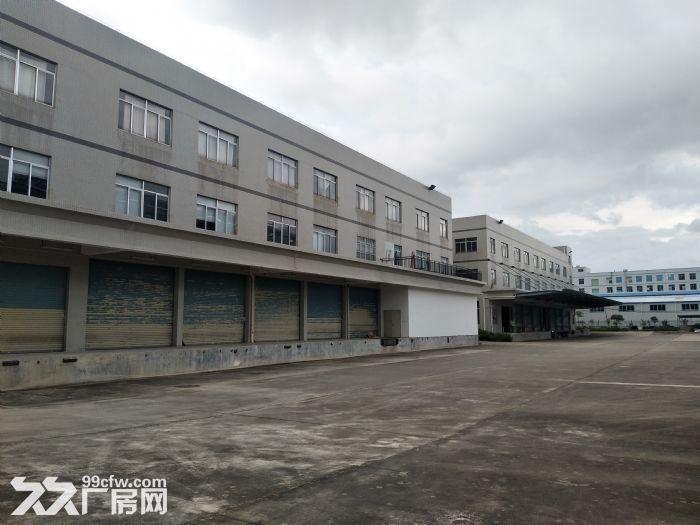 10元起水口带卸货平台三层19500平方红本标准厂房仓库招租-图(1)