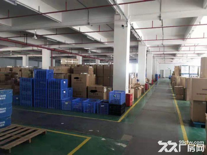 形象好凤岗碧湖大道楼上4000平带精装修厂房出租大小分租-图(2)
