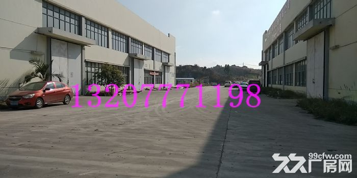 钦州市钦南区黎合江工业园大型场地及厂房用地出租(可分租),证件齐全-图(1)