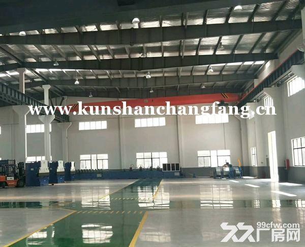 花桥带25吨行车独栋厂房6300平米独院出租-图(2)