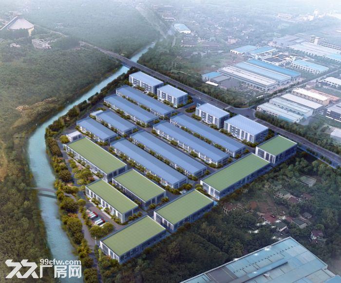(无税收)(三证全)稀缺单层钢构厂房总价500万起-图(1)