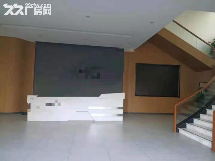 靠深圳凤岗雁田独门独院厂房出租三层7800平带装修带牛角-图(2)