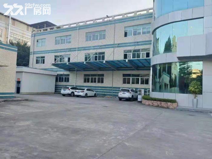 靠深圳凤岗雁田独门独院厂房出租三层7800平带装修带牛角-图(4)