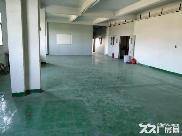 凤岗竹塘楼上小面积厂房出租450平现成装修地坪漆办公室-图(1)