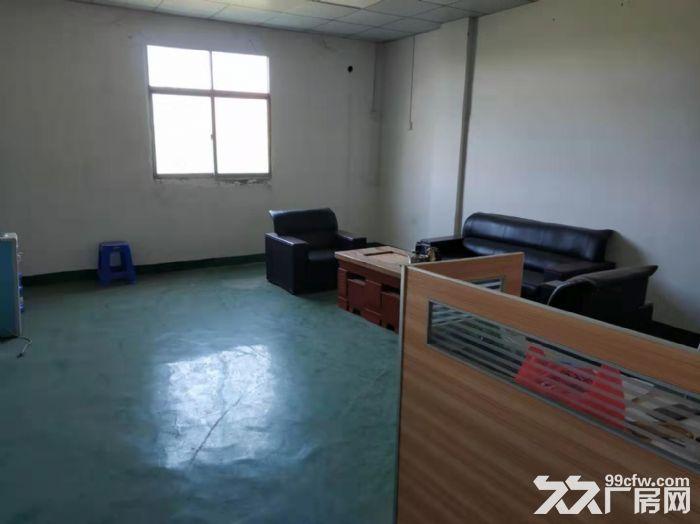 凤岗竹塘楼上小面积厂房出租450平现成装修地坪漆办公室-图(2)