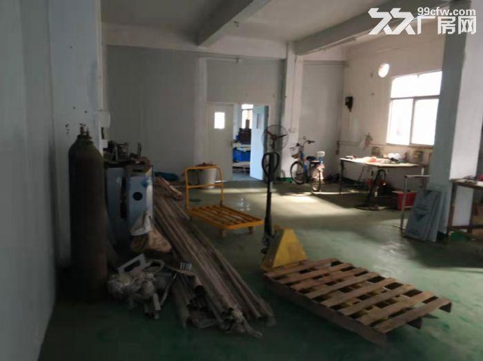 凤岗竹塘楼上小面积厂房出租450平现成装修地坪漆办公室-图(4)