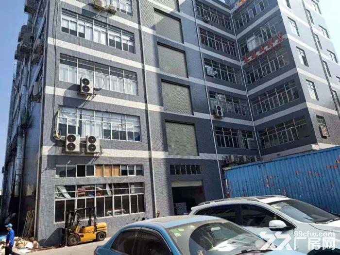 凤岗近深圳平湖工业园厂房出租楼上1300平消防齐全水电齐-图(1)