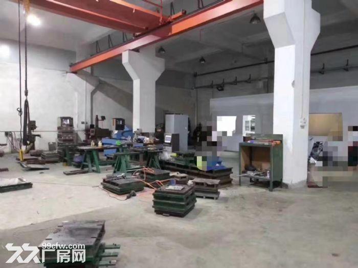 清溪镇中心一楼厂房出租750平适合模具,注塑五金机加工-图(1)
