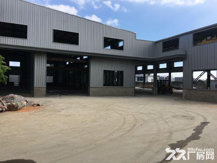 同安大道边厂房+钢构建筑出租,含行车、独立的保安室、厨房、员工宿舍,集装箱可进出-图(2)