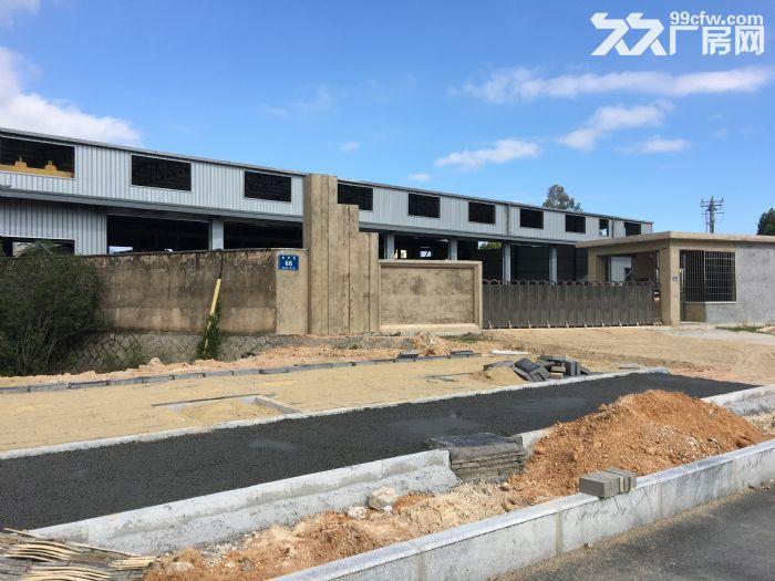 同安大道边厂房+钢构建筑出租,含行车、独立的保安室、厨房、员工宿舍,集装箱可进出-图(5)