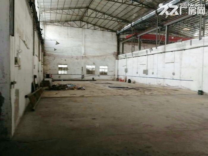 南沙榄核3500平方路边厂房,配5吨天车,砖墙到顶-图(2)