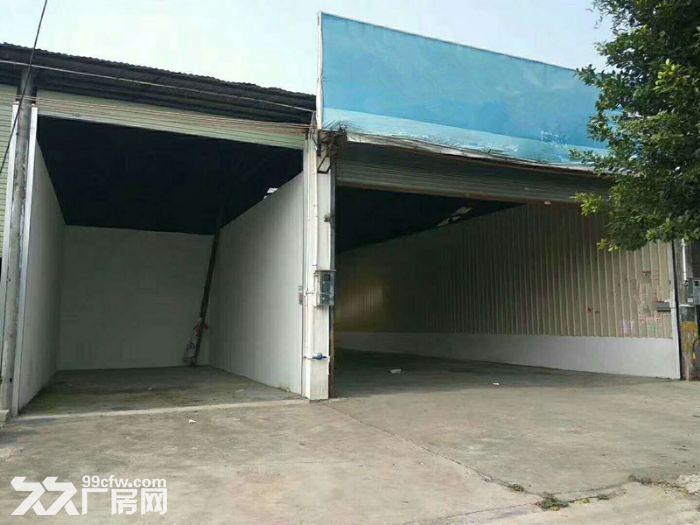 大路边,砖墙到顶,番禺石基1400平方简易厂房出租-图(1)