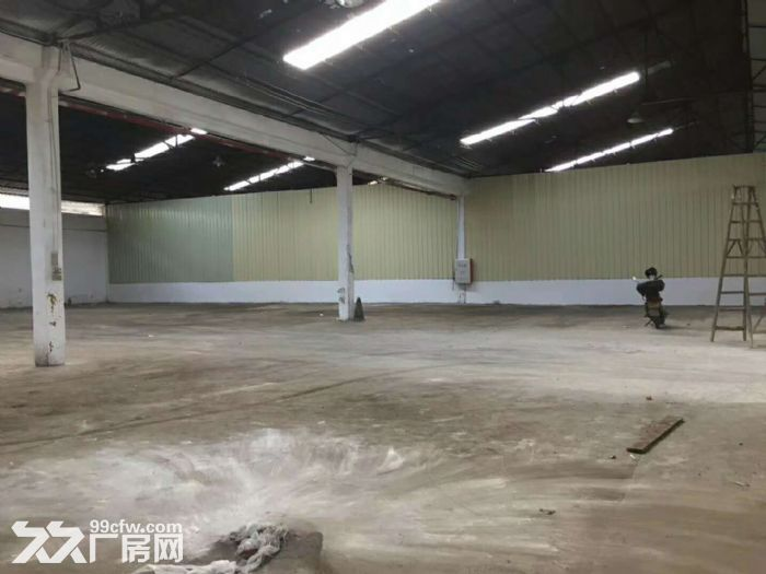 大路边,砖墙到顶,番禺石基1400平方简易厂房出租-图(2)