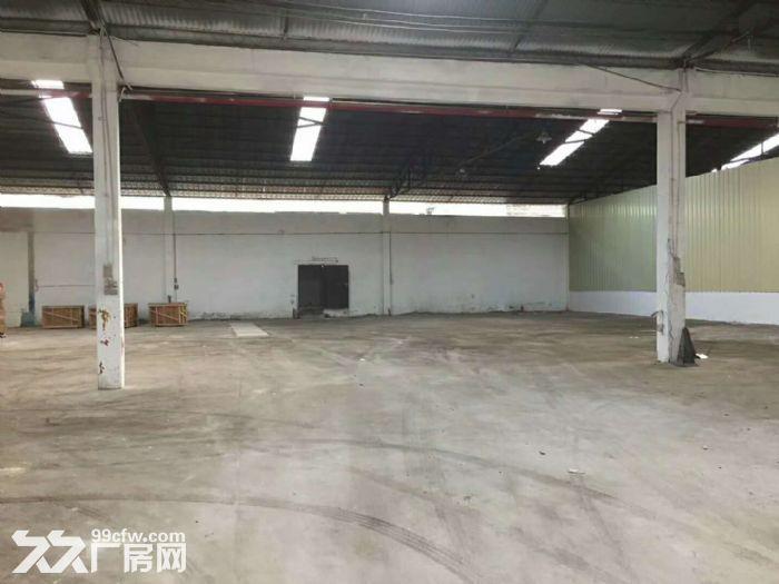 大路边,砖墙到顶,番禺石基1400平方简易厂房出租-图(3)