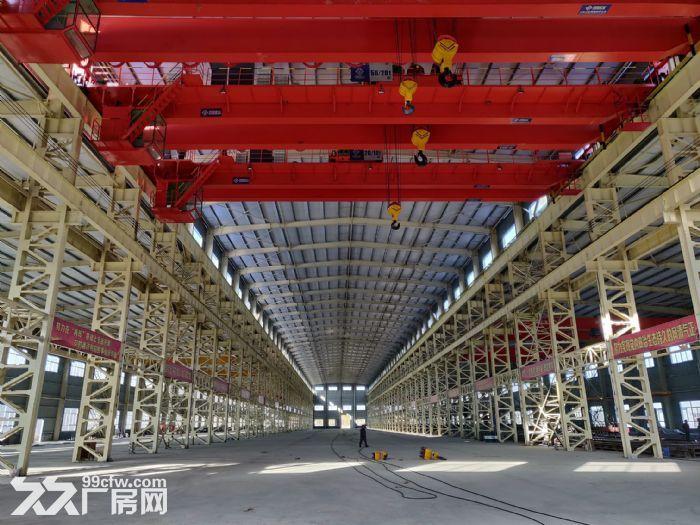 大型钢结构车间出租,手续齐全最大行车50吨2部-图(1)