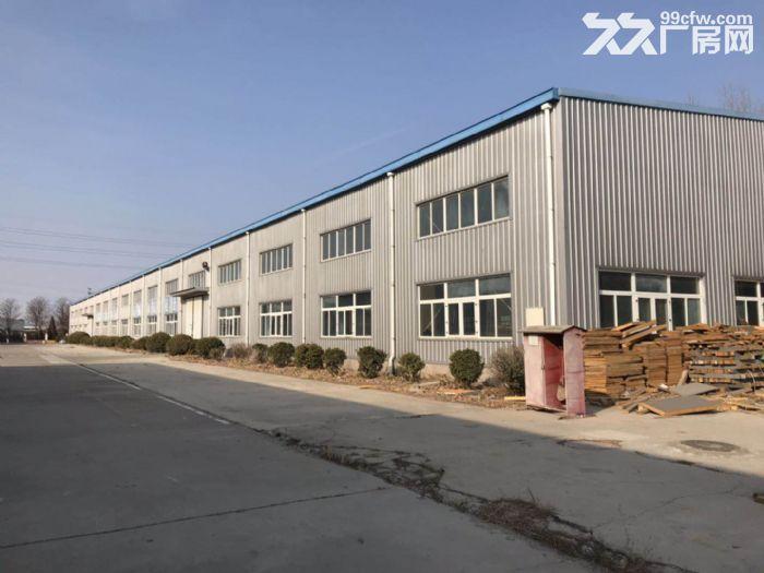 独门独院轻钢厂房出租,正规工业园内,可生产环评-图(1)