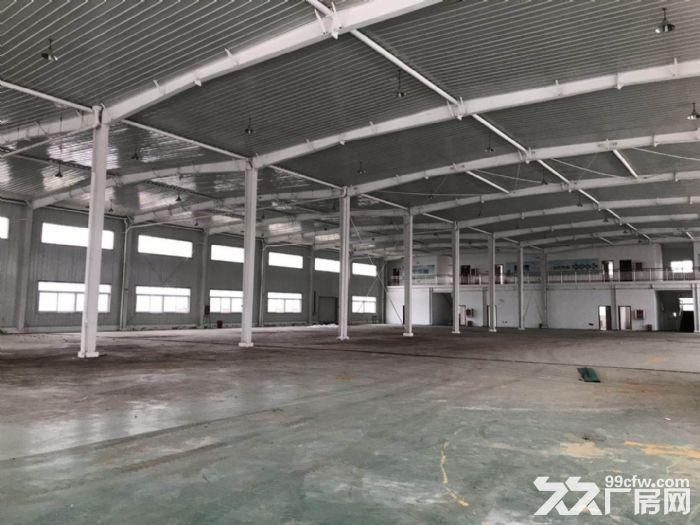 独门独院轻钢厂房出租,正规工业园内,可生产环评-图(2)