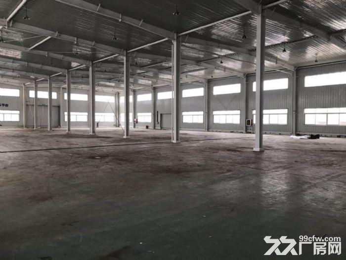 独门独院轻钢厂房出租,正规工业园内,可生产环评-图(5)