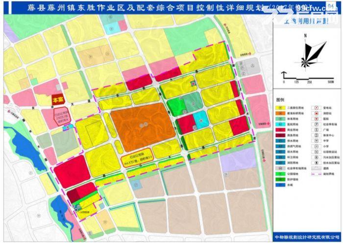 广西藤县城区中心2宗优质地块出让-图(6)