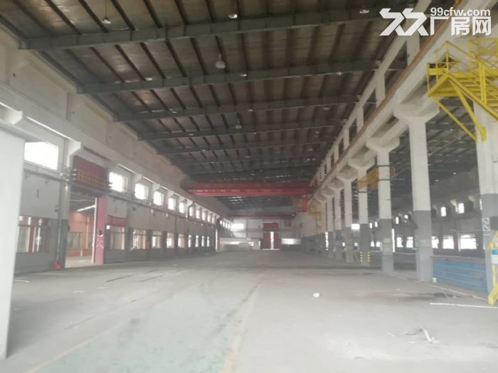 曹新公路厂房仓库25000可分独门独院有行车形象好-图(2)