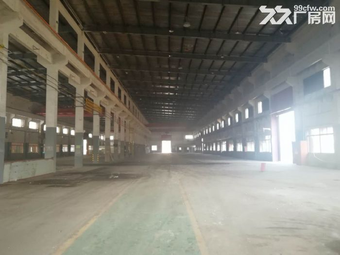 曹新公路厂房仓库25000可分独门独院有行车形象好-图(4)