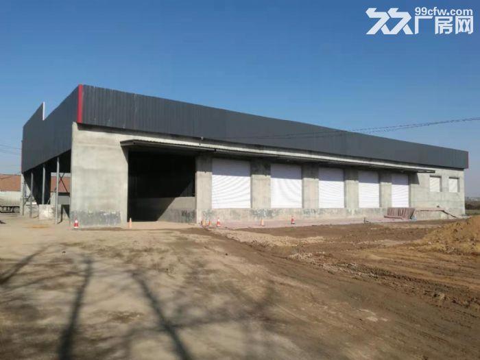 出租济青高速潍城出口旁西环路边,建设用地物流库-图(2)