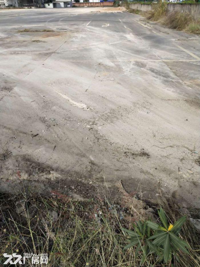 杏林灌口附近空地12000平,有水泥硬化出租,可盖厂房-图(1)