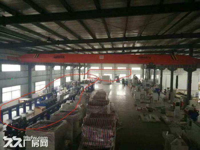 出租温江海峡科技园高品质厂房1400平米,层高12米,带行吊,带办公,住宿-图(1)