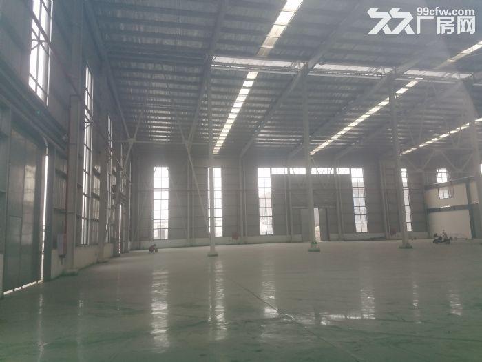 优质钢架结构4600平米新厂房带办公出租-图(1)