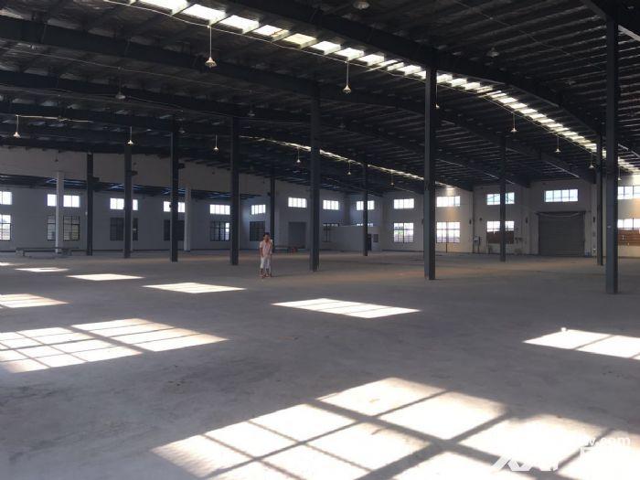 嘉定区华亭霜竹公路,独门独院火车头单层厂房5600平米对外招租-图(1)