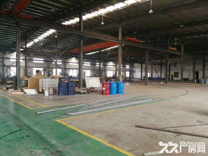 嘉定区华亭霜竹公路,独门独院火车头单层厂房5600平米对外招租-图(2)