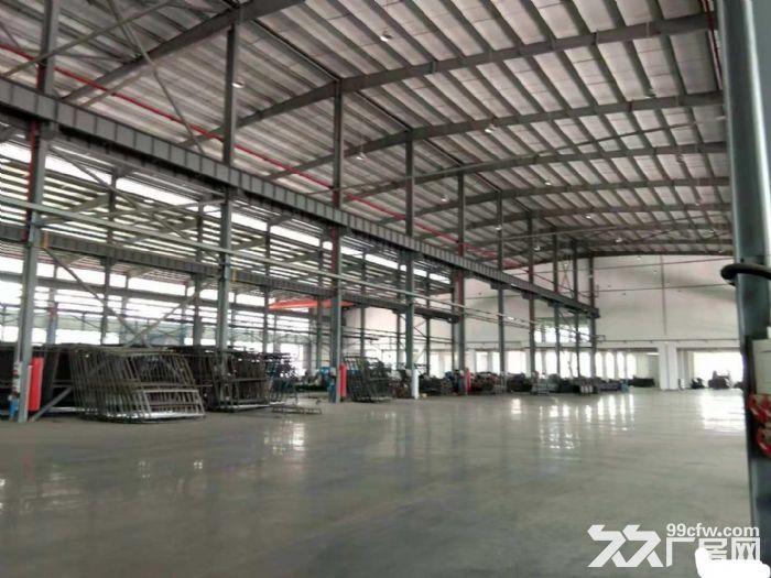 杏林高速路口工业钢构厂房2800平出租-图(1)