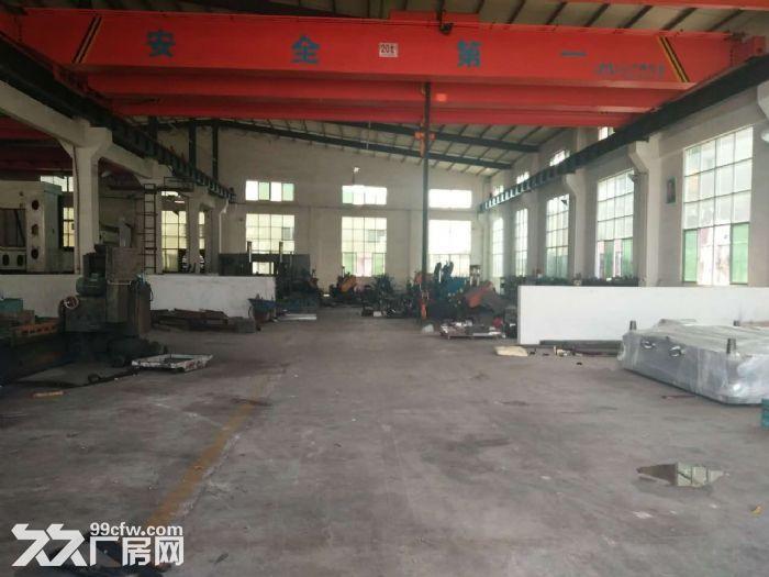 大朗独院单一层厂房1660平方,现成行车,滴水8米-图(2)