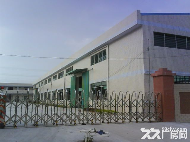 横沥独院砖墙到顶厂房1200平方,现成叉车,滴水8米-图(1)