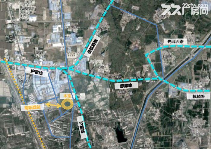南阳光电产业集聚区王村10号路30000平高端云仓-图(2)
