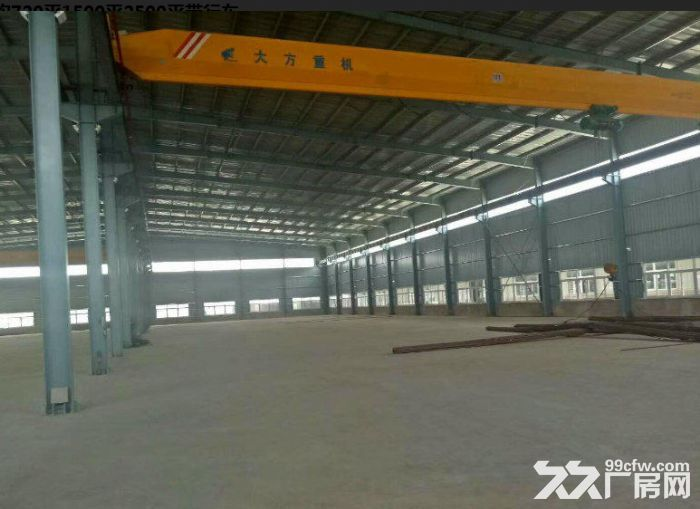 集美工业区钢结构720平1500平2500平带行车-图(2)
