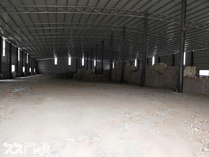 小金口4000㎡钢构厂房出租层高9米配电200KVA可进20米货车-图(1)