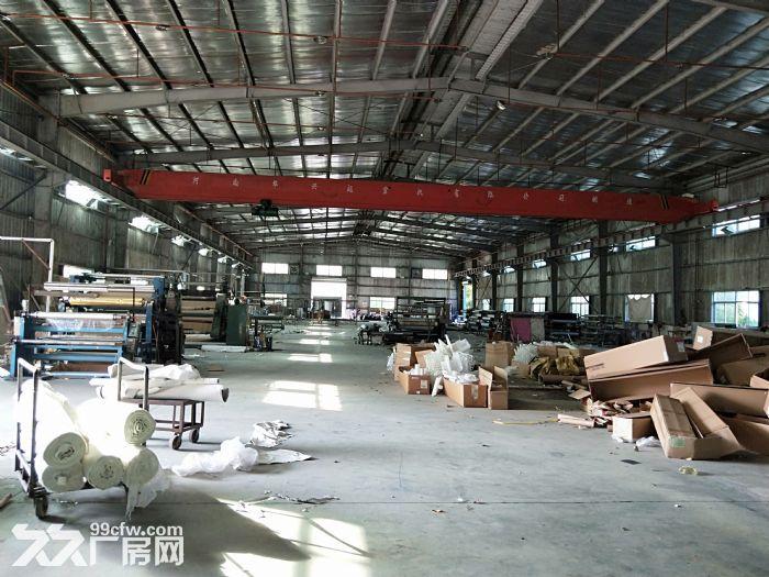 小金口4000㎡钢构厂房出租层高9米配电200KVA可进20米货车-图(3)
