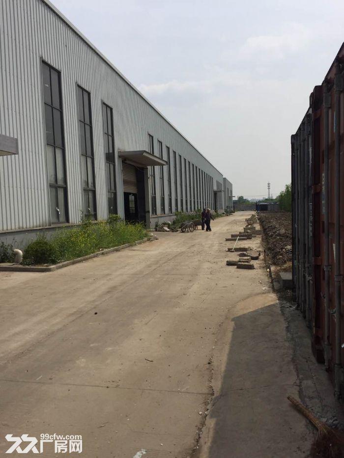 鸿安路附近,10000平方单层高平台厂房,仓库可分租,有产证-图(1)