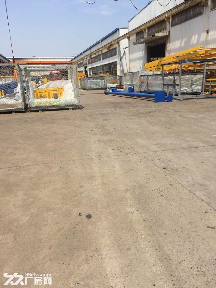 鸿安路附近,10000平方单层高平台厂房,仓库可分租,有产证-图(4)