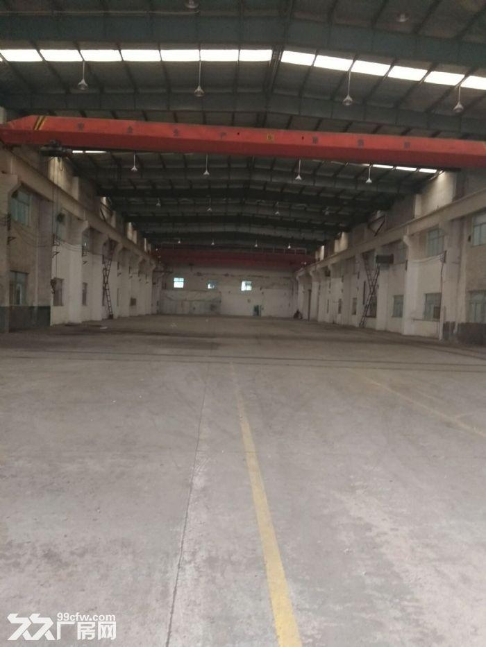 嘉定华亭新出标准厂房2500平,带行车,层高10米,地属104板块绿证-图(1)
