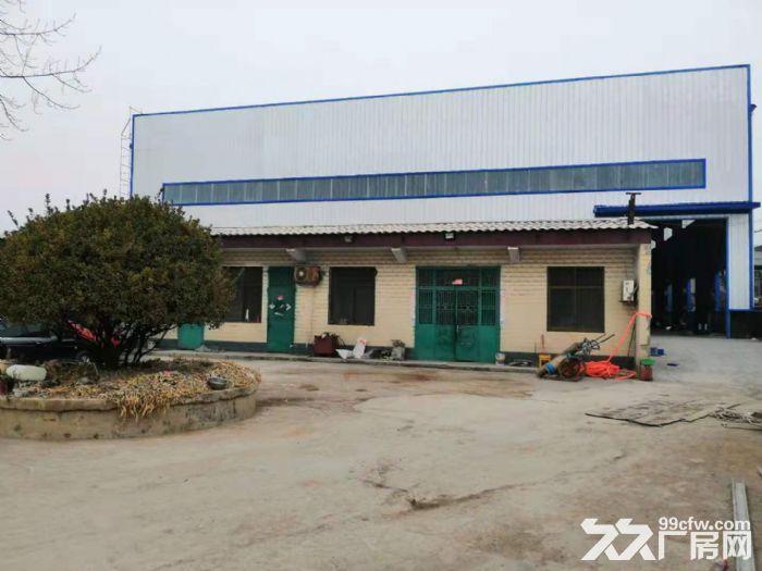 禹州市全新钢结构厂房仓库出租3200平-图(8)
