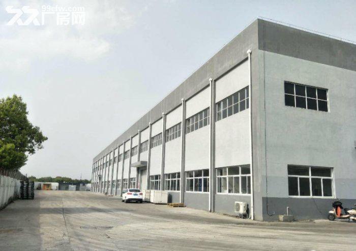 阳澄湖一手房东新出独栋单层厂房3300㎡层高15米多部行车-图(1)