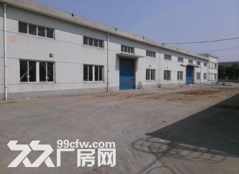 马陆澄浏中路丰年路一楼2400平厂房招租层高10米交通便利可分租-图(1)
