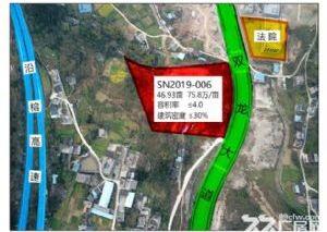 贵州省思南县城区中心46亩商住用地出让